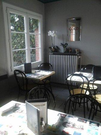 Neufchatel en Bray, فرنسا: Salle de restauration