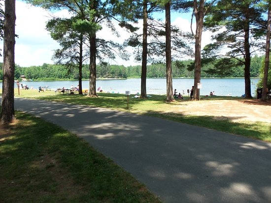 Rhinelander, WI: Buck Lake Beach at Almon Park