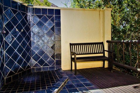 Addo, África do Sul: Outdoor showers