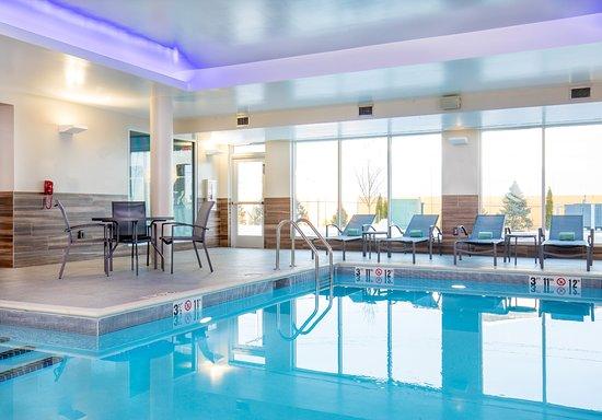 Walpole, Массачусетс: Indoor Pool Area