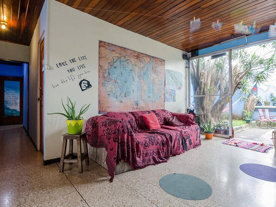 San Pedro, Costa Rica: Living room.