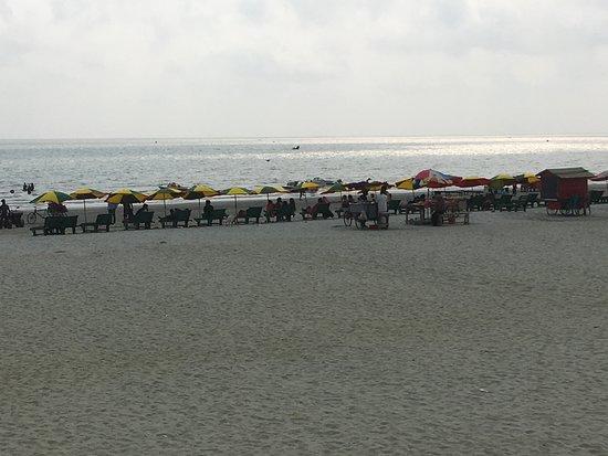 Barisal Division, Bangladesh: Kuakata Sea Beach at noon