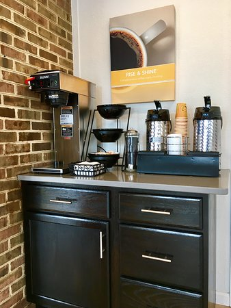 Hillsville, VA: Coffee Station