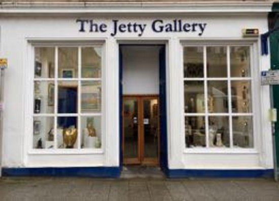 Oban, UK: The Jetty Gallery Storefront on George Street