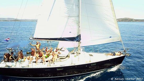 Tisno, Kroatië: sailing Kornati