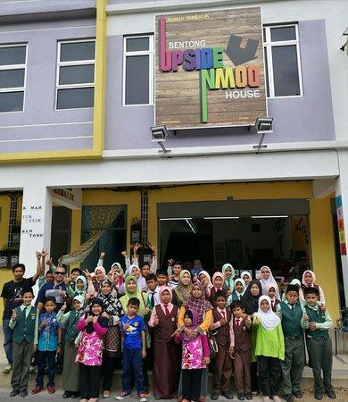 Bentong, Malaysia: 三层楼店屋