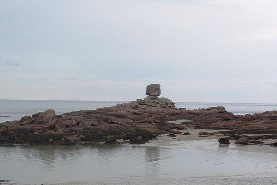Plage du Coz-Pors: Rochers de la plage de Coz-Pors