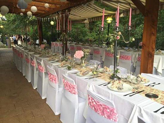 Rhone, Francja: Dressage pour un mariage chic et champétre