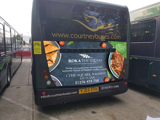 Bagshot, UK: our new advert !