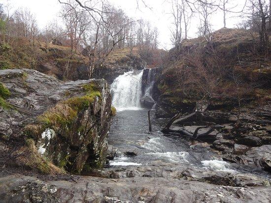 Loch Lomond and The Trossachs National Park, UK: La cascade