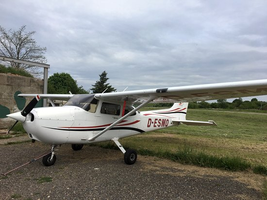 Grossenhain, Germany: Unsere Cessna 172