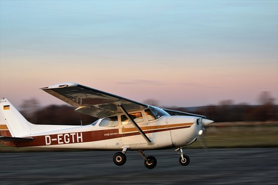 Grossenhain, Γερμανία: Unser Cessna 172