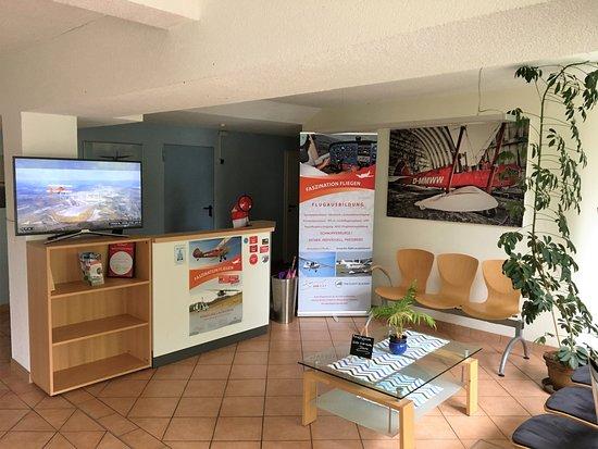 Grossenhain, ألمانيا: Unser Willkommensbereich