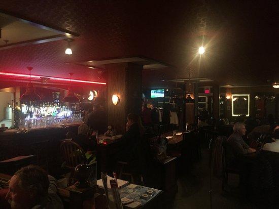 Silver Star, Canadá: Bar area