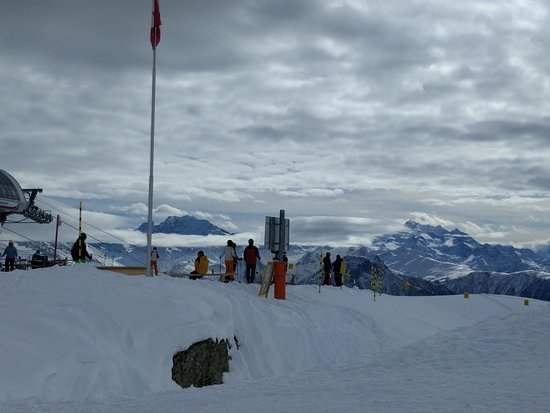 Riederalp, Швейцария: panorama da Moosfluh 2333m.