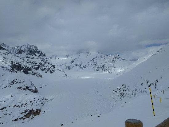Riederalp, Швейцария: il ghiacciaio