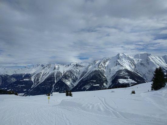 Riederalp, Швейцария: pista slittini