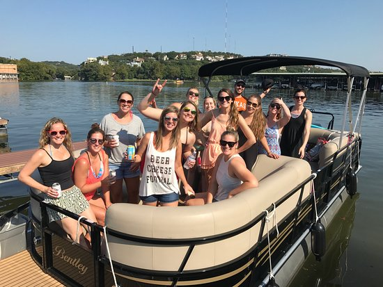 Volente, TX: Perfect for bachelor or bachelorette parties out on the lake