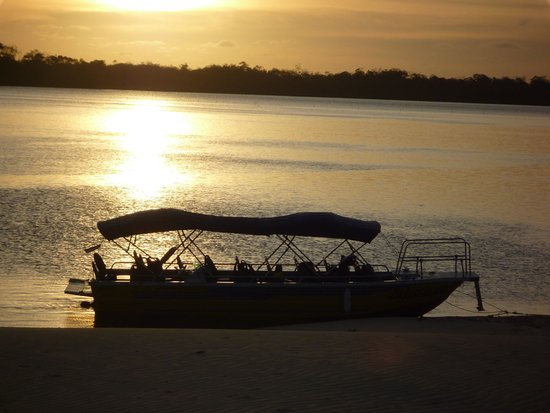 Barreirinhas, MA: Por do sol (Caburé)