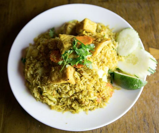 Thai Ginger - Seattle: Ye,low Curry Fried Rice