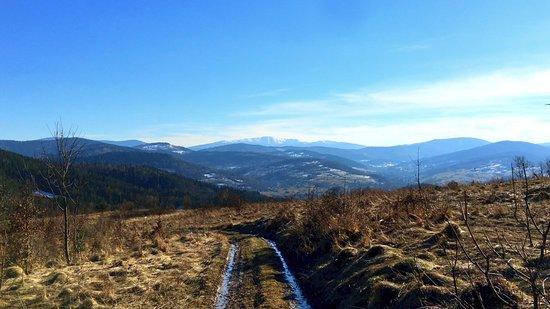 Sucha Beskidzka - zdjęcie z jednego z pobliskich szczytów :)