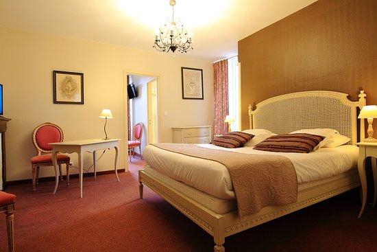 Hotel La Couleuvrine: Chambre familiale de 2 à 4 personnes
