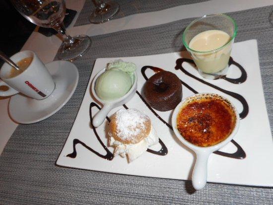 Houssen, Francia: Café gourmand
