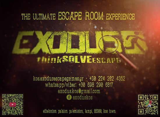 Exodus Kos Escape Rooms