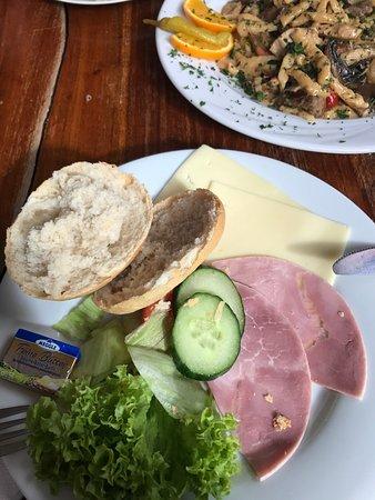 Julich, Germany: classical breakfast