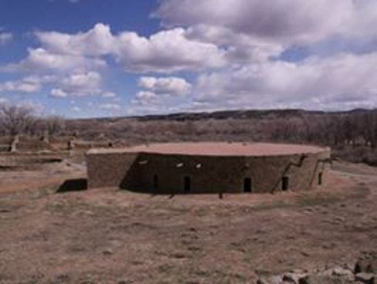 Aztec, NM: Great Kiva.