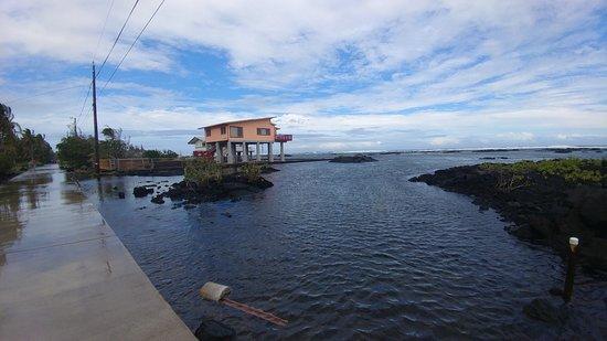 Kapoho Tide Pools: view of the tide pools
