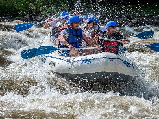 Blue Ridge Ga Whitewater Rafting Is Por On The World Cl Ocoee River