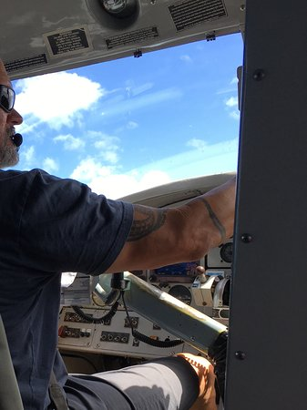 Key West Seaplane Adventures : John our pilot
