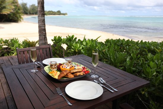 Sea Change Villas: Delicious breakfasts and picnic lunches can be arranged