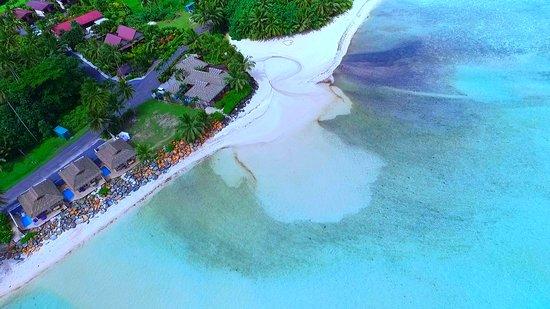 Τιτικαβέκα, Νήσοι Κουκ: Aerial