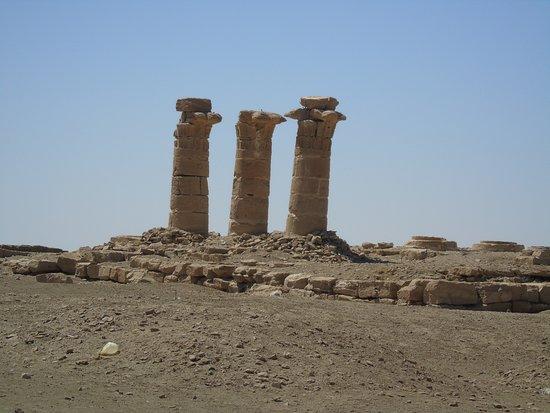 Port Sudan, Sudan: pozostałości świątyni Aton