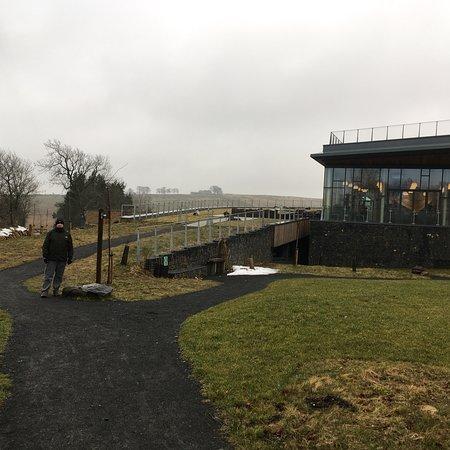 Bardon Mill, UK: The Sill: National Landscape Discovery Centre