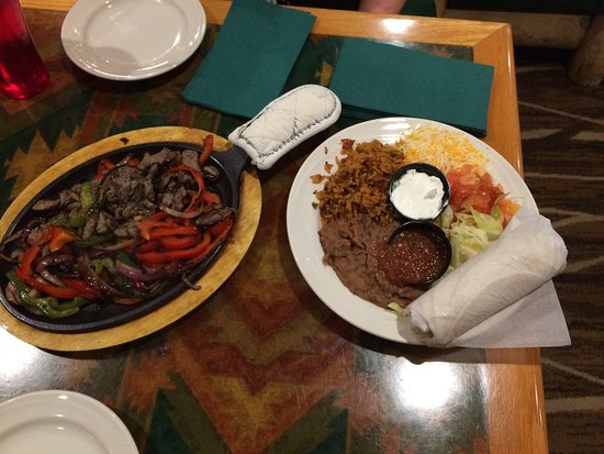 Holiday Inn Canyon de Chelly: fajitas
