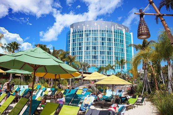 Universal S Cabana Bay Beach Resort Volcano