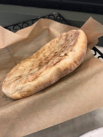Oren's Hummus: Pita bread
