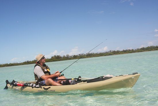 Great fishing opportunities on South Caicos.