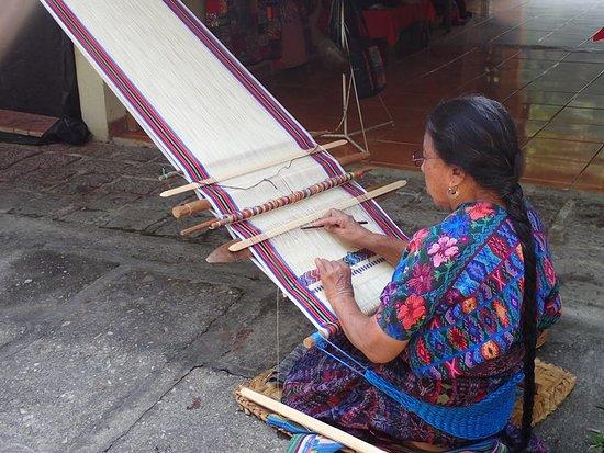 Quirigua, Guatemala: Hand craft sales area