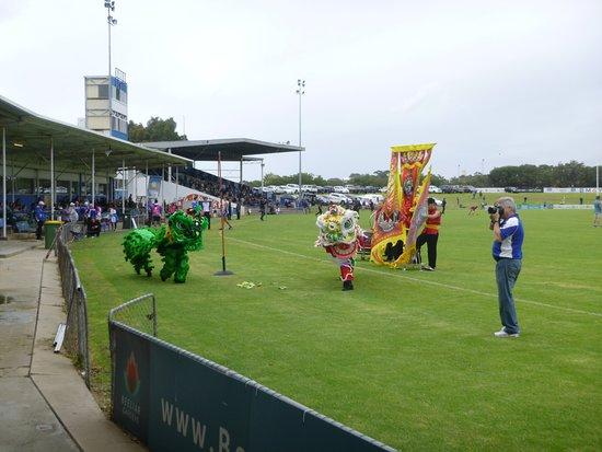 East Fremantle, Australia: game day at freo