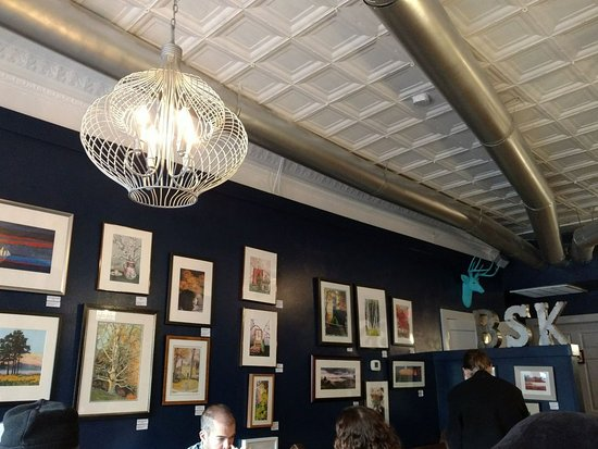 Media, PA: Finly Interior w/local artwork for sale