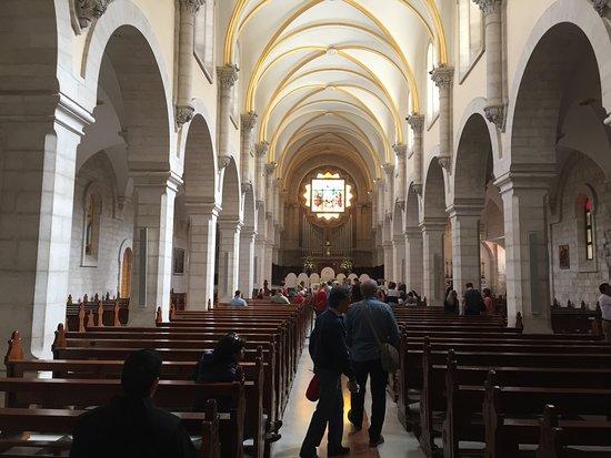 adjacent chapel to church of the nativity ベツレヘム 降誕教会の
