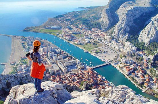 Via Ferrata Omis Tour from Split