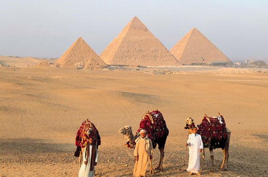 Zwei Tage Reise nach Giza Pyramiden...