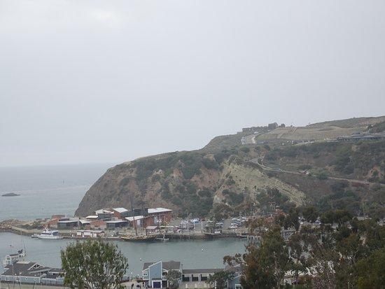 "Dana Point, CA: Views of the ""Headlands"" bluff from the trail"