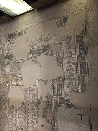 Zippori, Israel: More floor mosaics at Zipppori