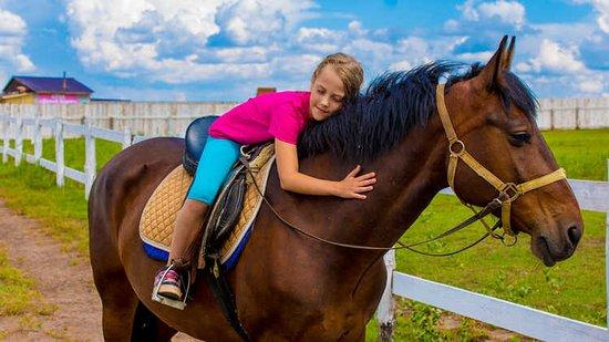 Shira, Russia: Собственная конюшня